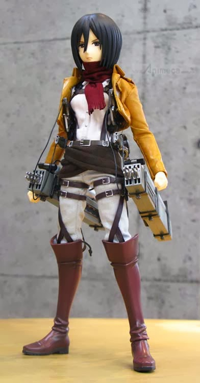 FIGURA MIKASA ACKERMAN REAL ACTION HEROES Shingeki no Kyojin