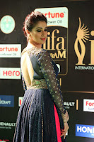 Raai Laxmi in Beautiful Backless Designer Anarkali Gown at IIFA Utsavam Awards 2017  Day 2  Exclusive 24.JPG