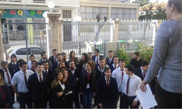 Άσκηση ετοιμότητας  στο ΙΕΚ Πελοποννήσου – Τουριστική σχολή