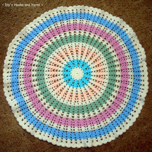 Ferris Wheel Baby Blanket - Free Pattern