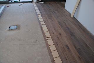 suelo de madera encolado