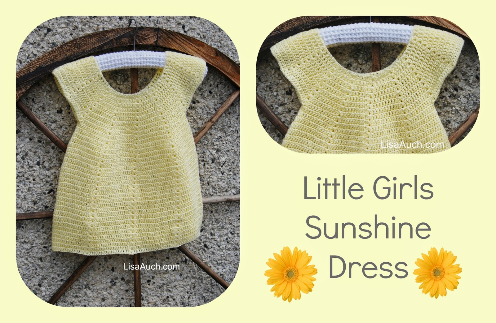 Crochet Baby Girl Dress Free Pattern ✓ Labzada Blouse