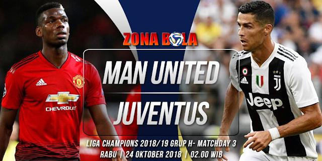 Prediksi Bola Manchester United vs Juventus Liga Champions