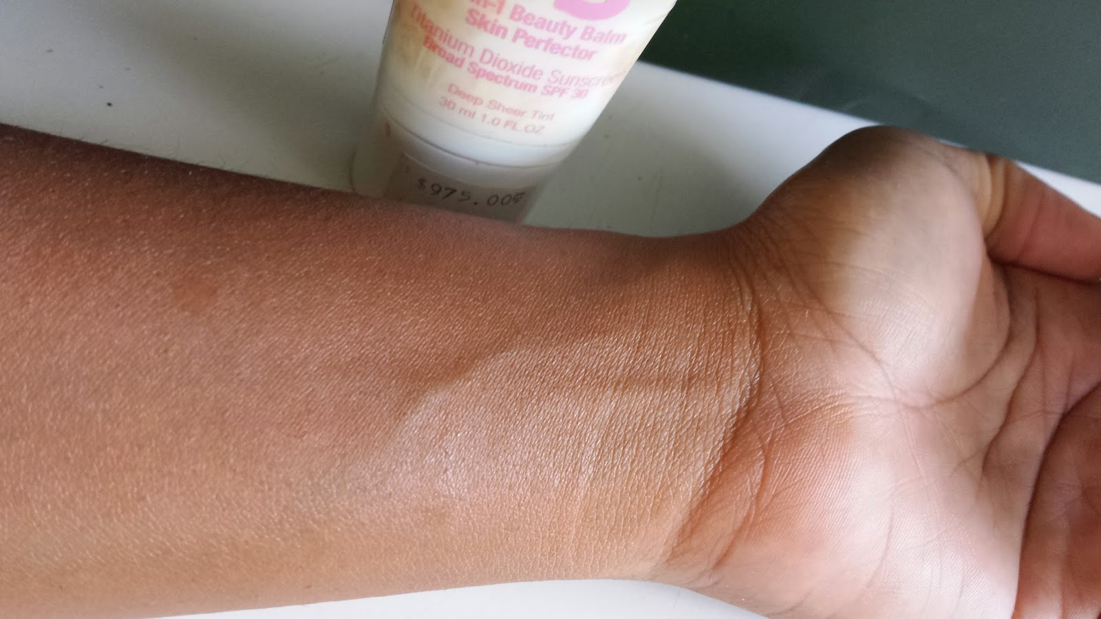 Maybelline BB Cream swatch - www.modenmakeup.com