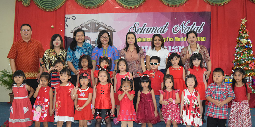Ibadah Natal PERTUM Kharisma KB-TK Kristen Kalam Kudus Surakarta