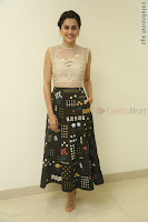 Taapsee Pannu in transparent top at Anando hma theatrical trailer launch ~  Exclusive 110.JPG