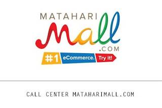 Nomor Call Center Mataharimall.com