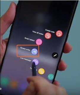 Cara Mengambil Screenshot Layar Samsung Galaxy Note 8