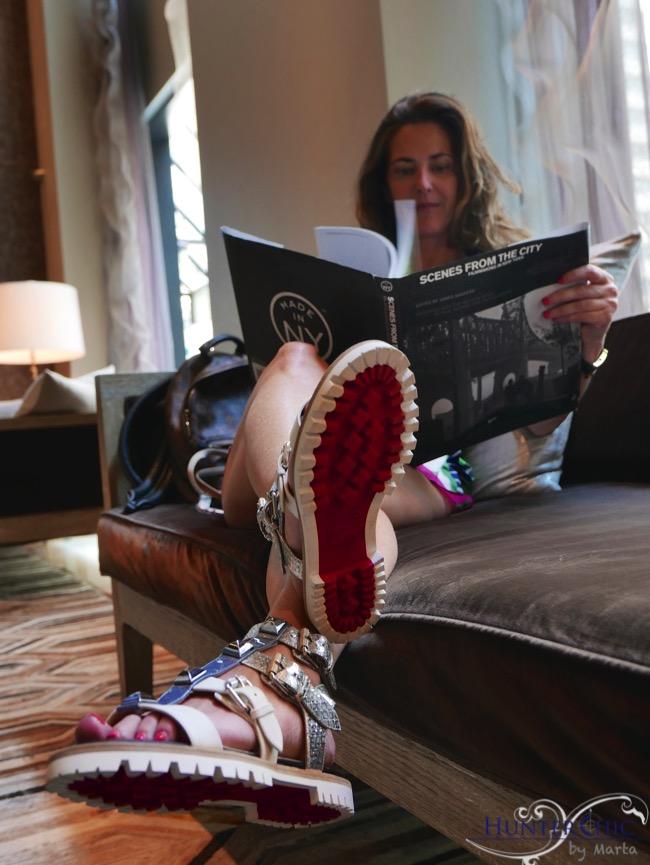 hunterchic by marta-marta halcon de villavicencio-fashion blog-como combinar un zapato plano