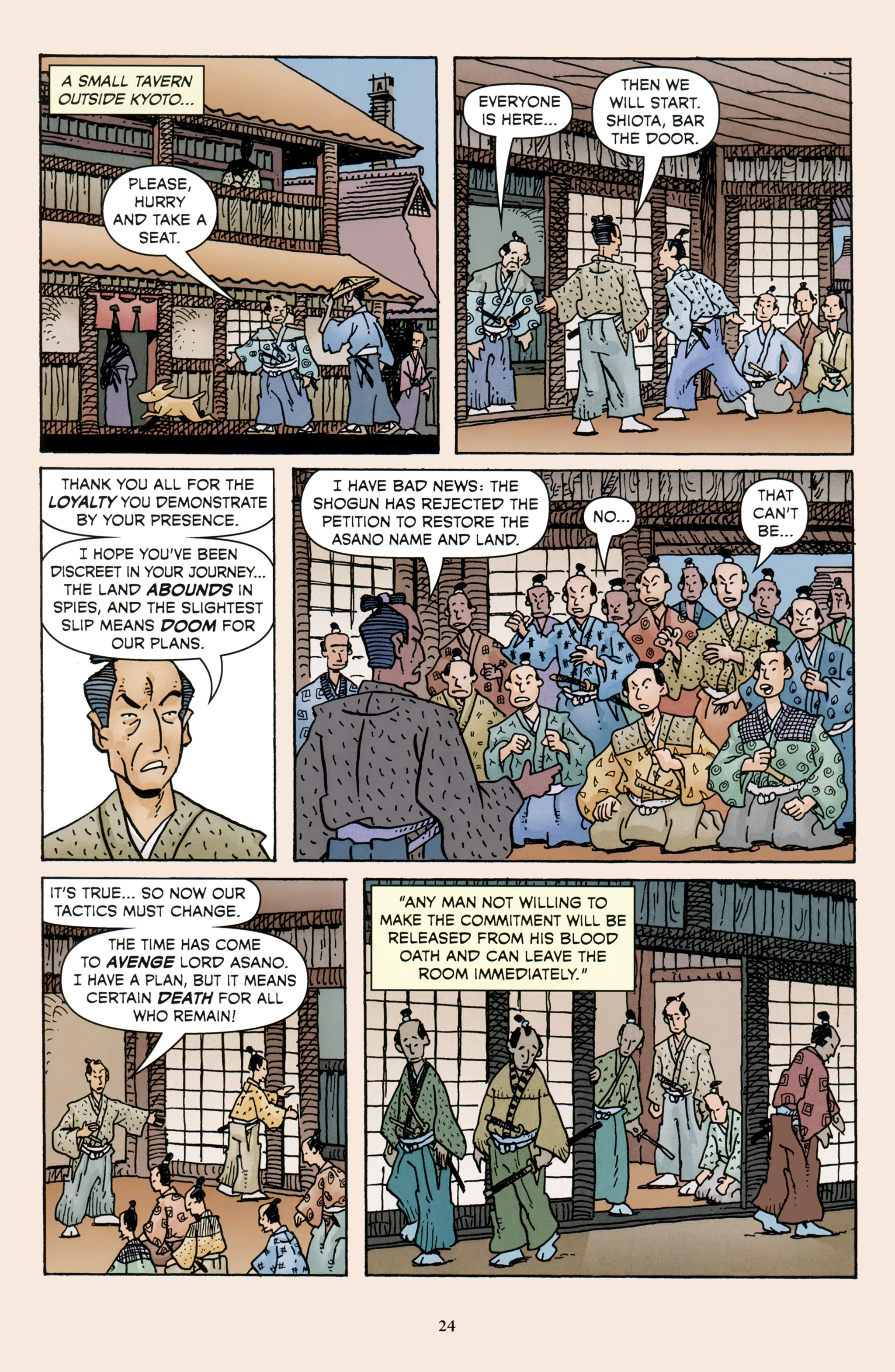 Read online 47 Ronin comic -  Issue #3 - 26