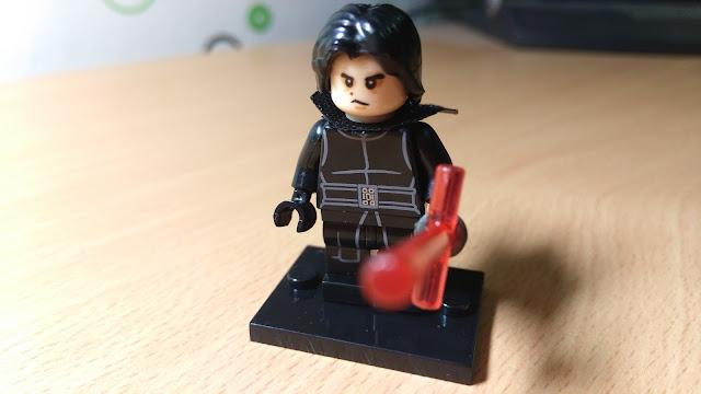 Фигурка лего Кайло Рен без шлема Star Wars Звездные войны