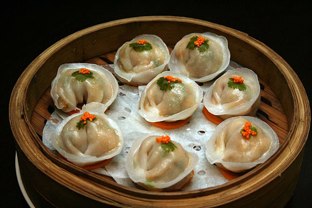 Curry Seafood Dim Sum