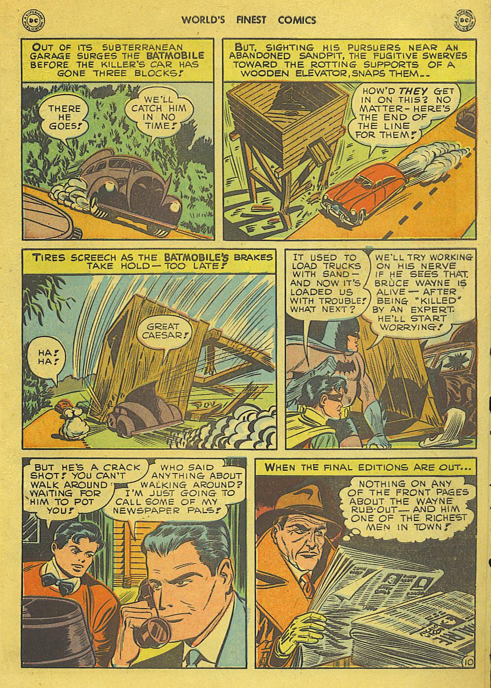 Read online World's Finest Comics comic -  Issue #34 - 71