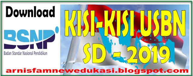 KISI-KISI USBN SD KURIKULUM 2006 DAN 2013 BSNP