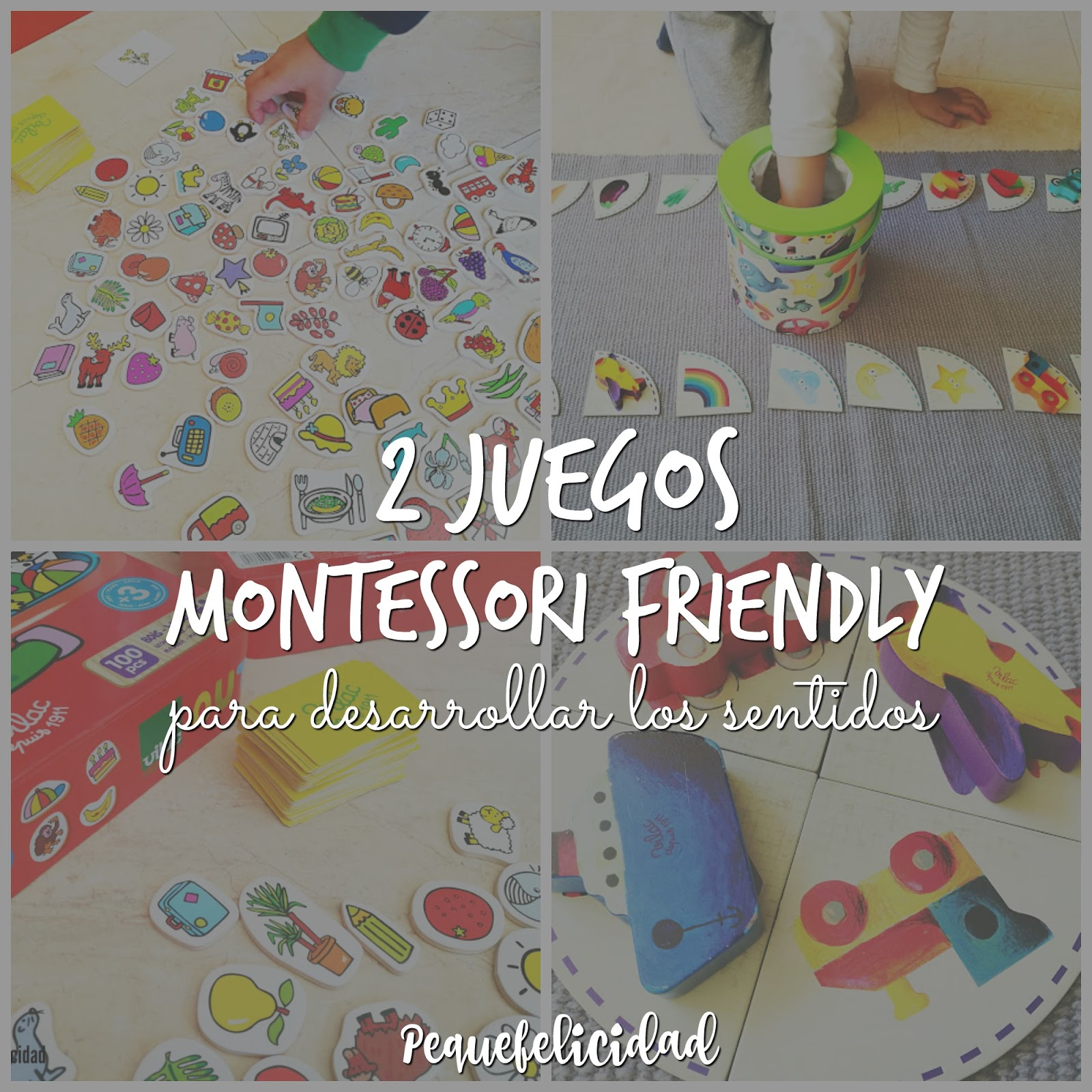 Pequefelicidad 2 Juegos Montessori Friendly Para Desarrollar Los