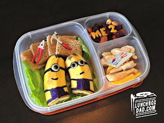Despicable Me Minions bento lunch