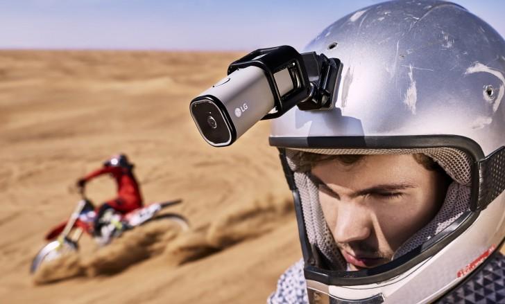 LG Action CAM, Kamera 4G LTE Pesaing GoPro