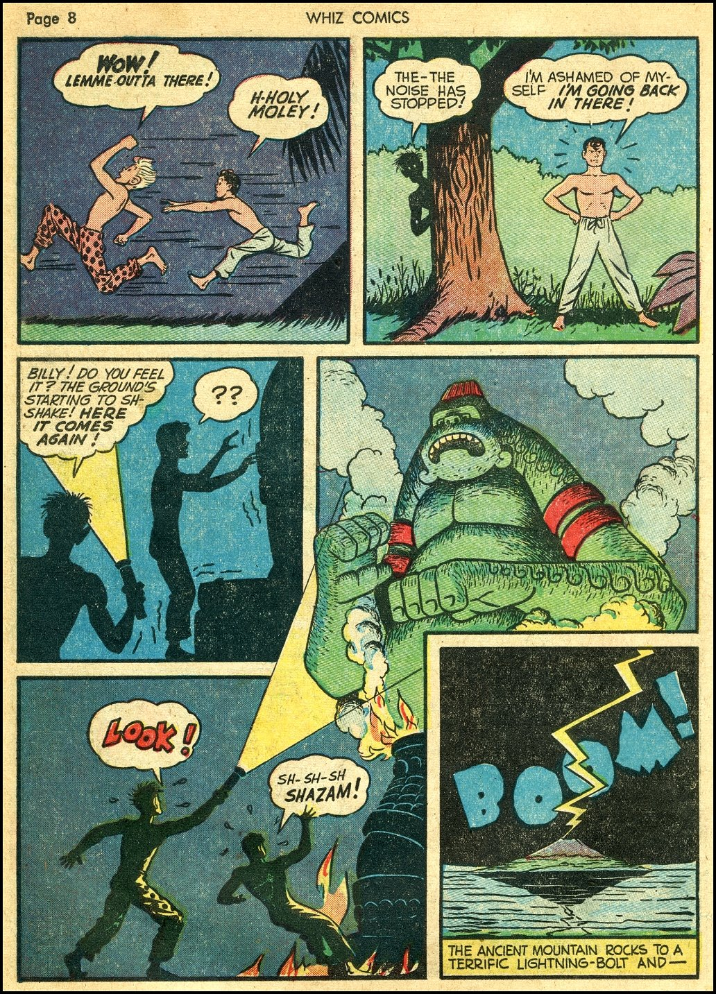 WHIZ Comics issue 22 - Page 10