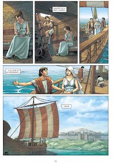 """""""Troya"""" vol.2: Los Misterios de Samotracia de Nicolas Jarry y Erion Ardisha Campanella, Yermo Ediciones"""