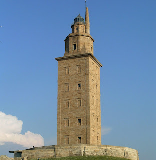 : The Tower of Hercules in north-west Spain is the oldest continuous use lighthouse. It was built by the Romans.