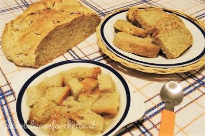 foto Ricetta pane fatto in casa con lievito madre per bambini