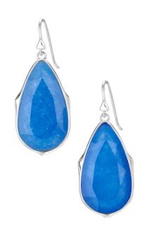 Stella & Dot Sentiment Drop Earrings, as seen on Holly Robinson Peete