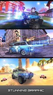 Overload 3D MOBA Car Shooting Mod Apk