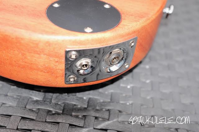 Pignose PGU-200MH Ukulele jack socket