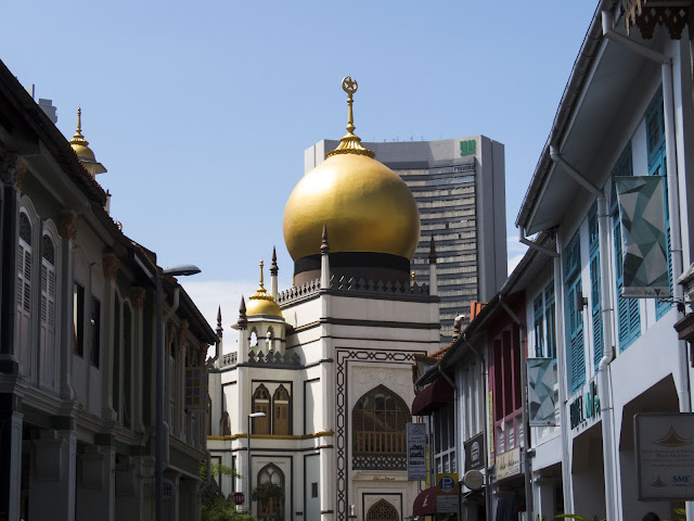 Sultan Mosque in Kampong Glam in Singapore
