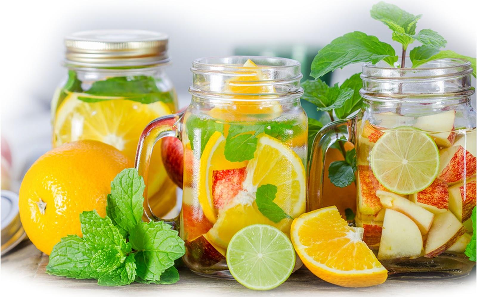 Minuman Infus Untuk Jantung Dan Asam Urat