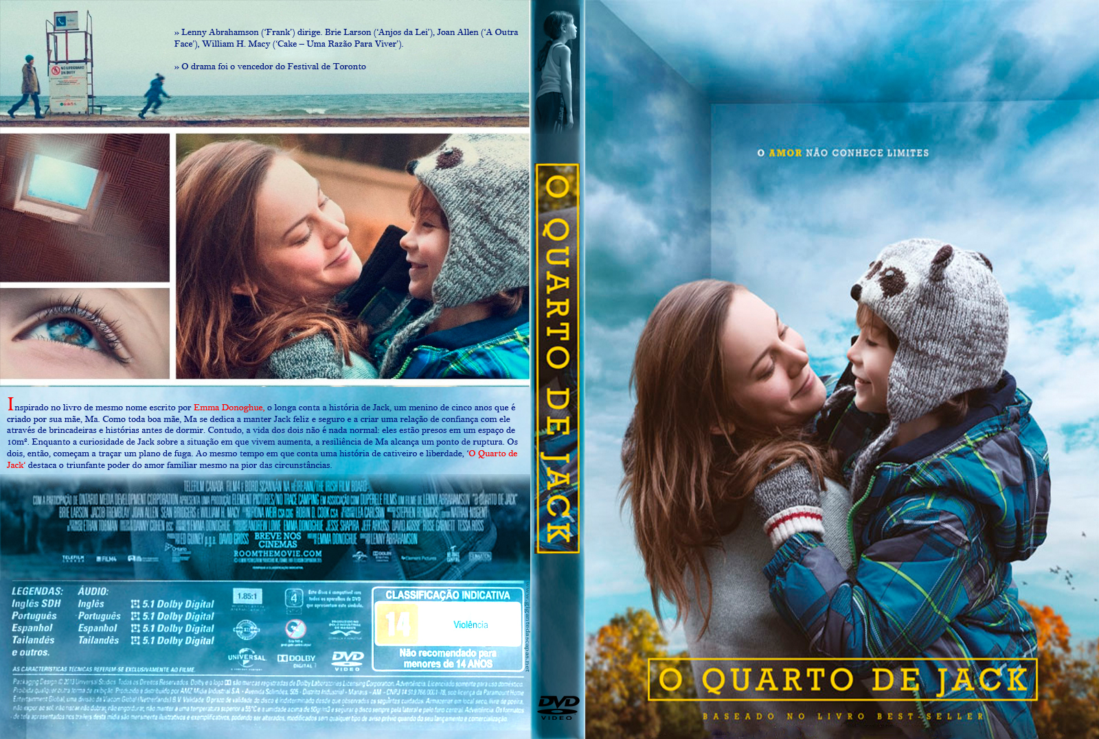 Download O Quarto de Jack DVD-R
