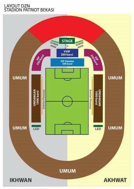 Malam ini Zakir Naik akan berceramah di Stadion Bekasi