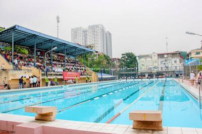Bể bơi Thủy Lợi vé rẻ
