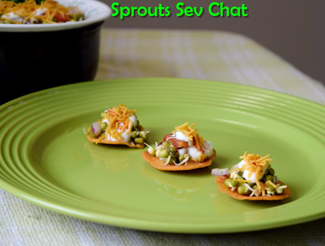 moong sprouts chat