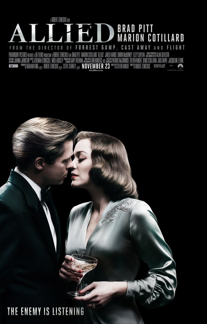 Allied 2016 Movie Free Download 720p BluRay