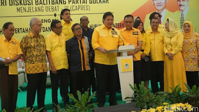 Golkar Yakin Jokowi Tak Kesulitan Debat dengan Prabowo di Isu Pertahanan