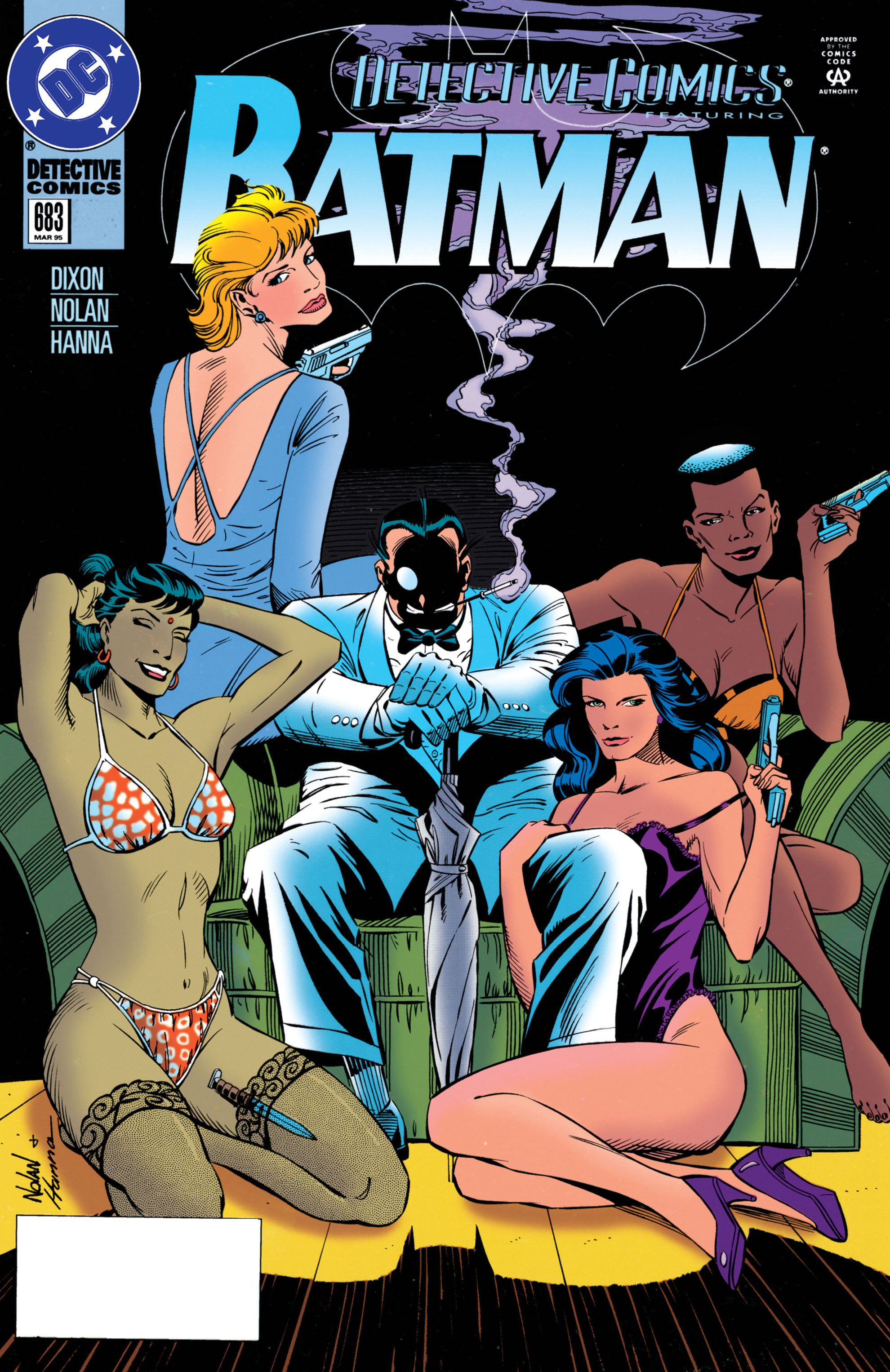 Detective Comics (1937) 683 Page 0