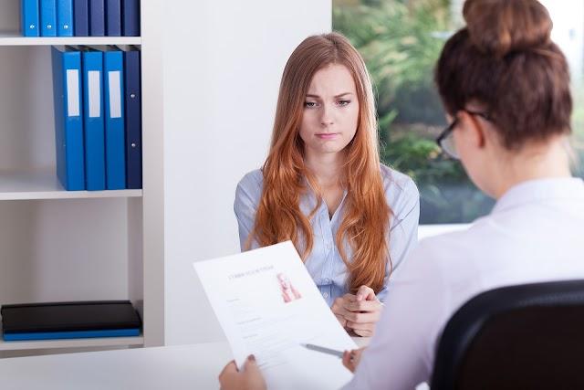 Feedbacks negativos pós-entrevistas de emprego