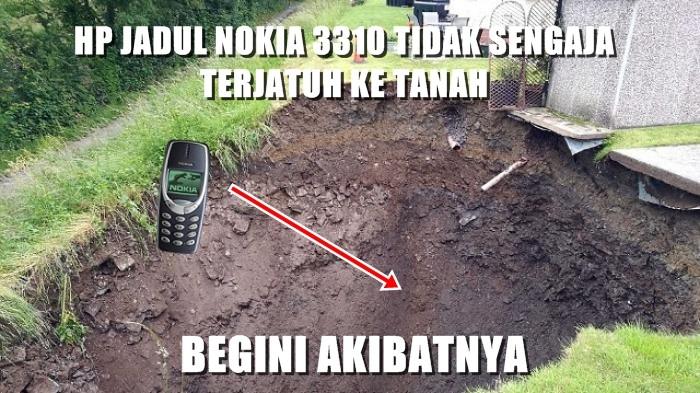Meme Lucu HandPhone Jadul Nokia 3310