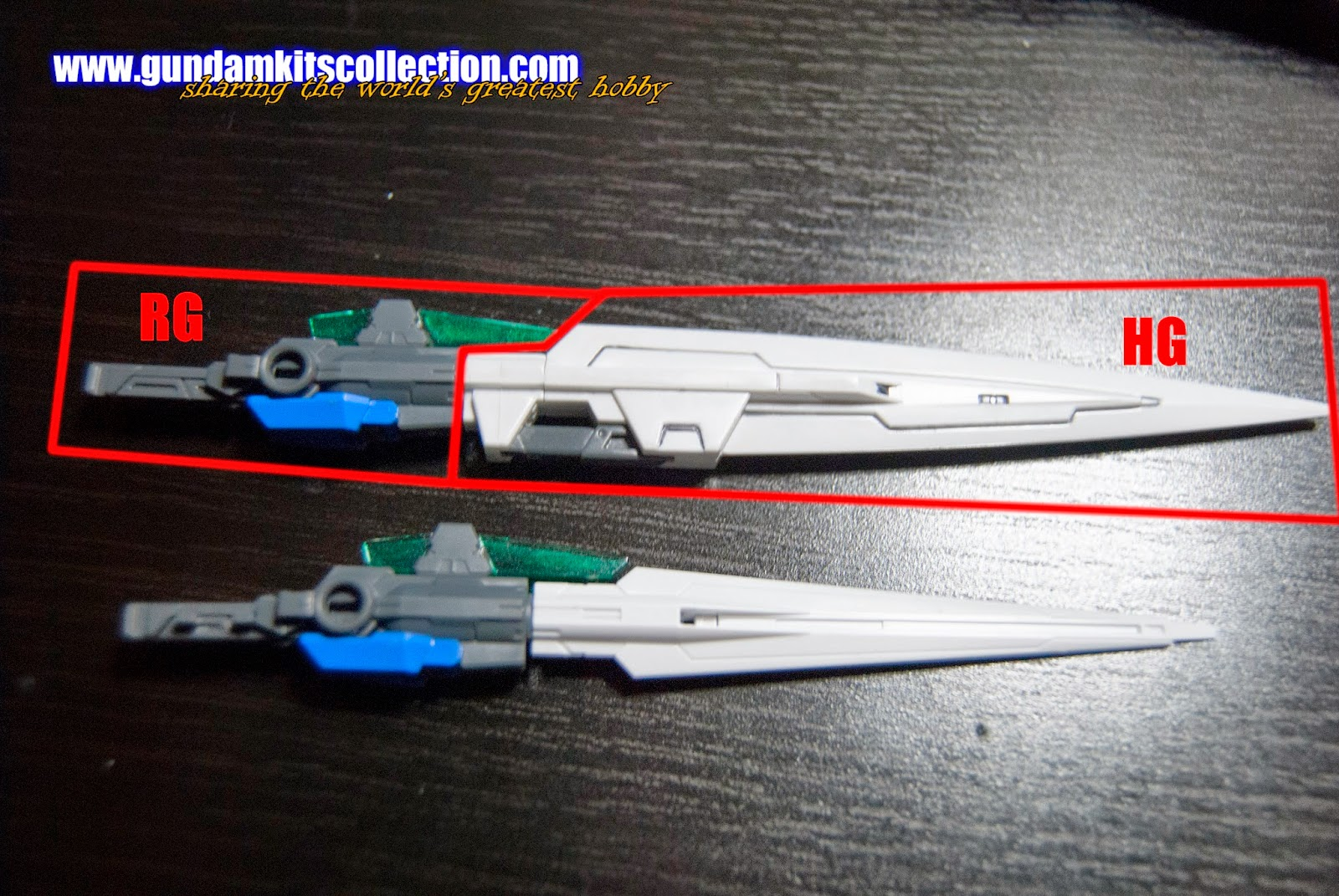 Gundam Recipe Rg 1 144 00 Gundam Seven Sword G Gundam Kits Collection News And Reviews
