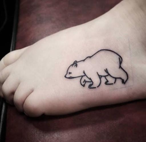 Este minimalista urso