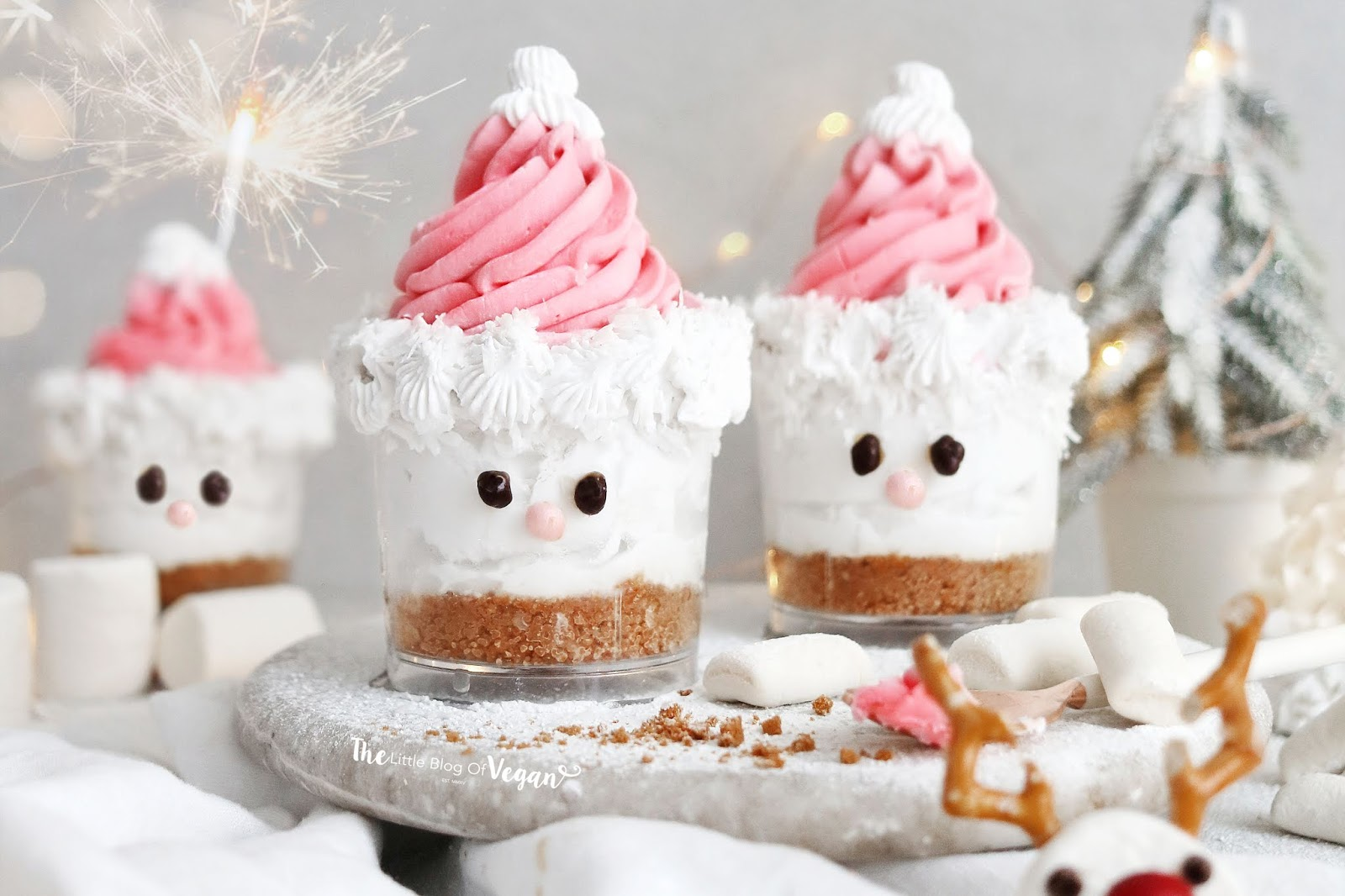 Coconut santa pots recipe