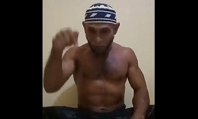 Badan Kekar, Habib Hamid Siap Gantikan Habib Bahar Duel Lawan Jerinx