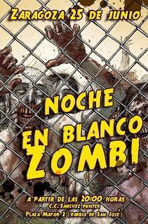 Noche en blanco Zombie