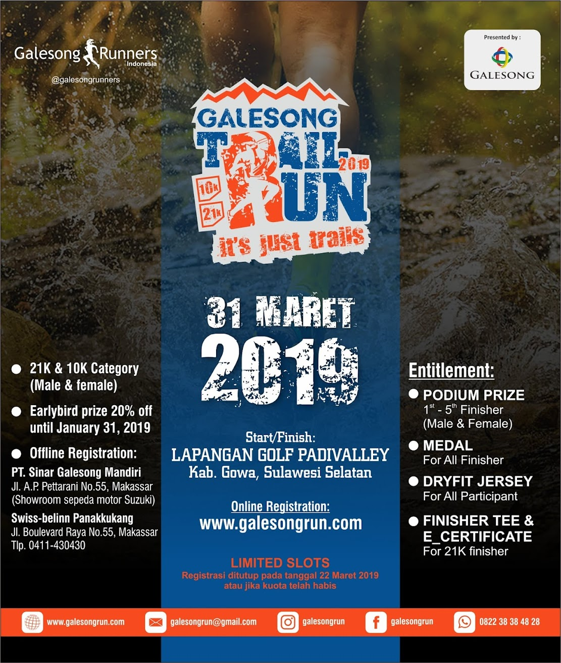 Galesong Trail Run • 2019
