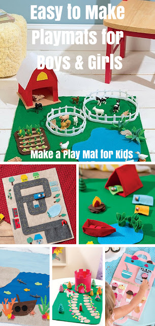 Easy to Make Playmats for Kids to Play with Create Your Own Play mat