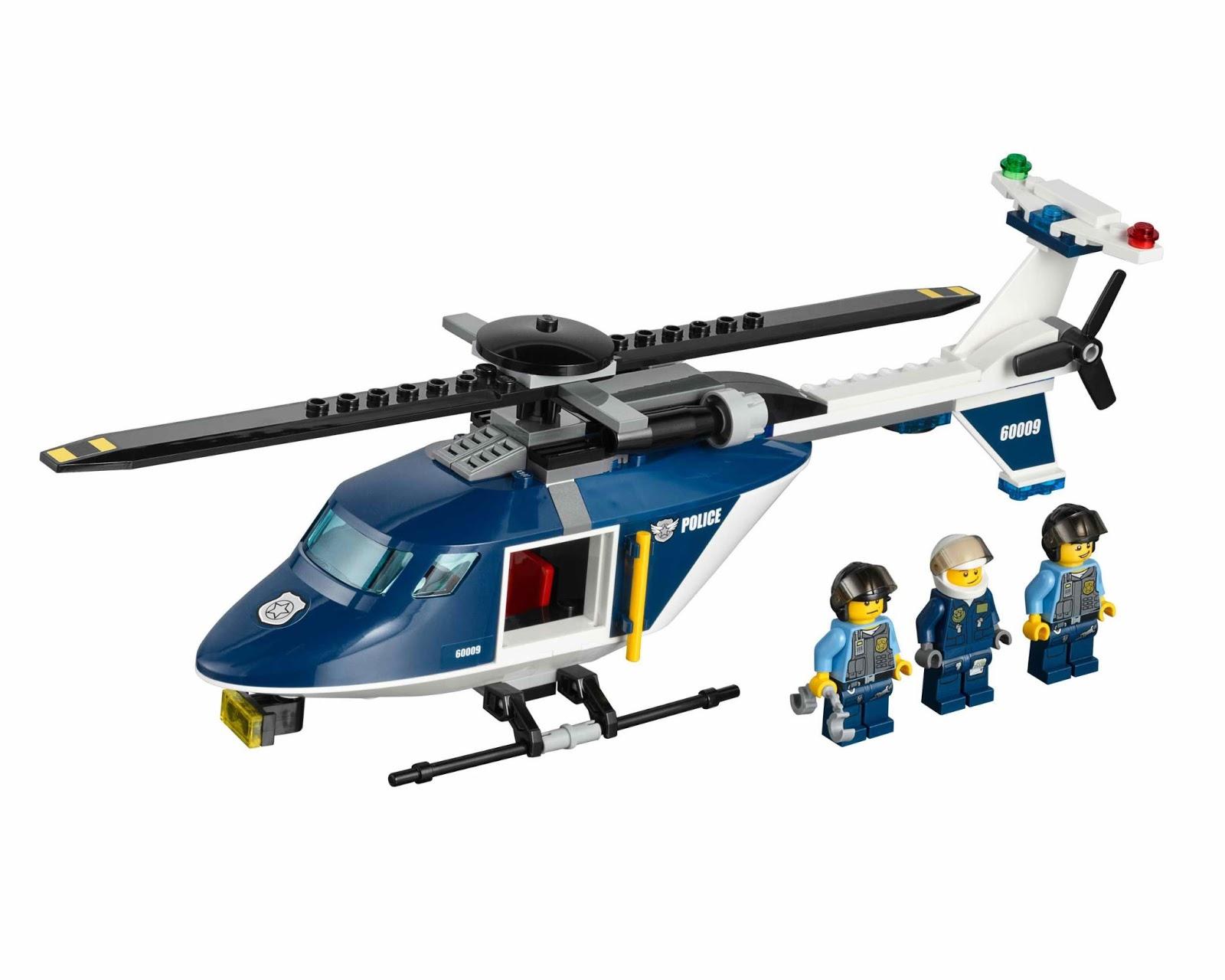 oneTWOBRICK.com: set database: LEGO 60009 helicopter arrest