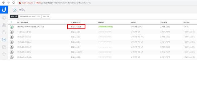 Reset Unify AP Menggunakan SSH