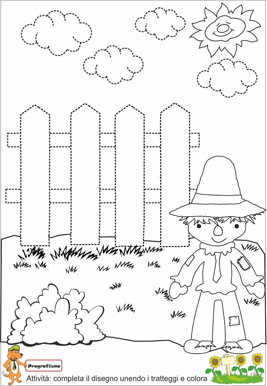 A Scuola Con Poldo Pregrafismo Mago Di Oz