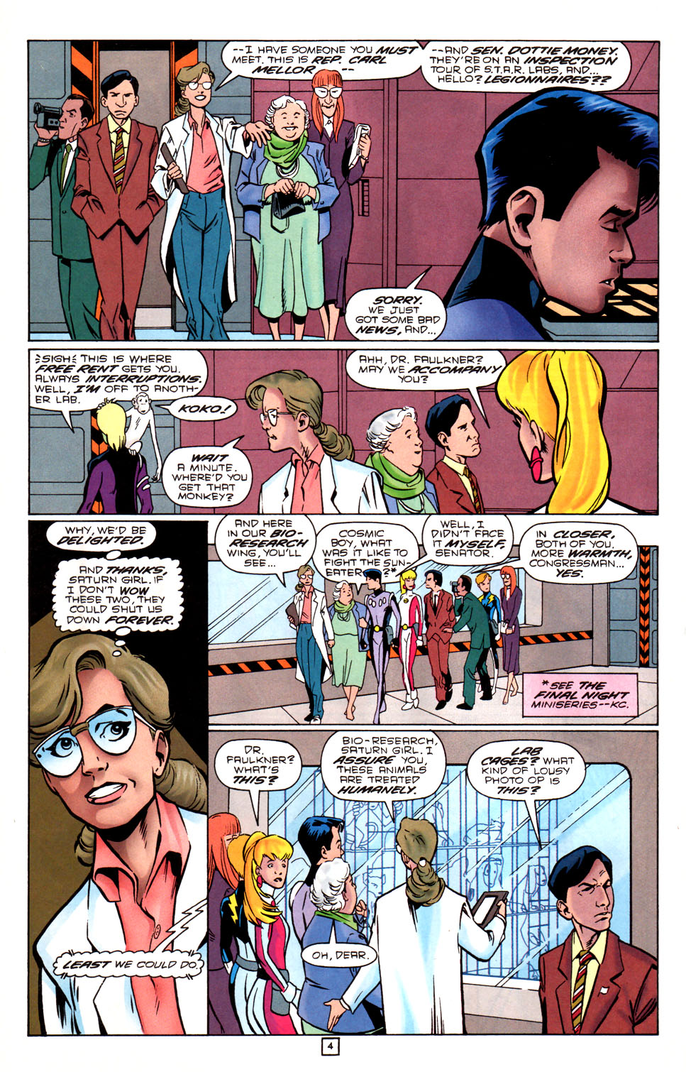 Legion of Super-Heroes (1989) 88 Page 4